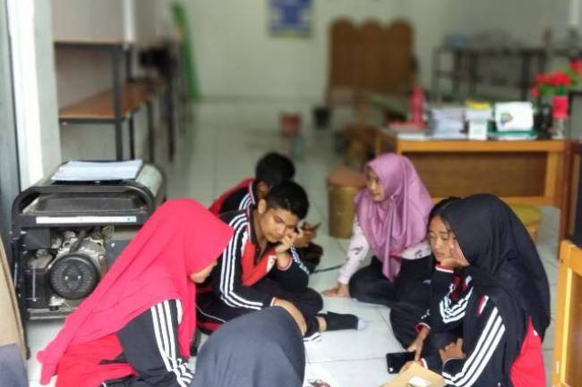 "Senangnya Berbagi Ilmu di ""Indonesian Club"""