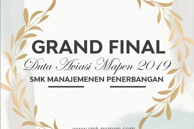 Grand Final Duta Aviasi Mapen 2019 ,Who's  The Winner of Duta Aviasi 2019?