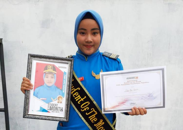 Pengumuman  Student Of The Month Edisi Juli