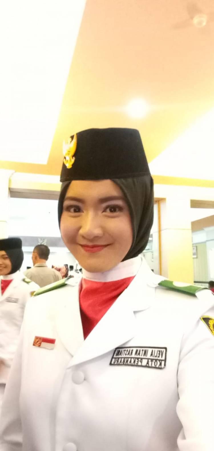 Velia Intan Restiani PASKIBRAKA tingkat Provinsi Riau 2019