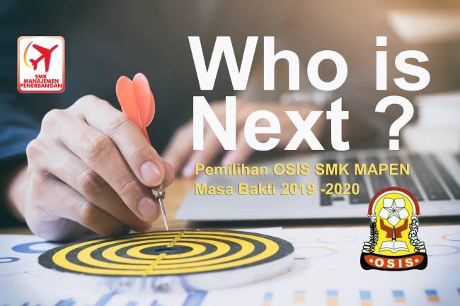Pemilihan Ketua Osis dan Wakil Osis Masa Jabatan 2019/2020 SMK Manajamen Penerbangan Pekanbaru