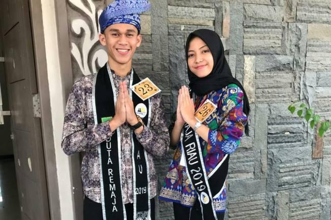 Finalis Duta Remaja Riau 2019 dari SMK Manajemen Penerbangan Pekanbaru