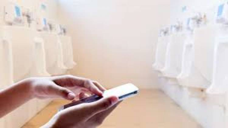 (LITERASI KELAS X) Suka Main Ponsel di Toilet? Sebaiknya, Hentikan Kebiasaan Itu, yuk!