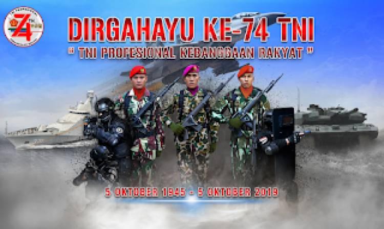 Hari Ulang Tahun TNI RI Ke-74