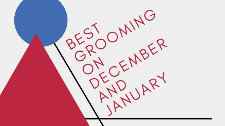 BEST GROOMING ON DECEMBER AND JANUARY